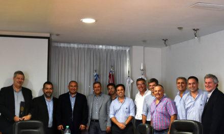 Importantes ejecutivos de Shell visitan AFA SCL
