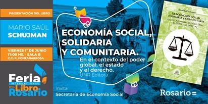 La economía solidaria en la Feria del Libro de Rosario