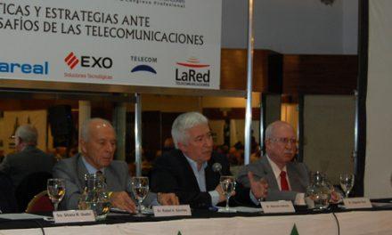 Marcelo Collomb participó de la apertura del Congreso de Telecomunicaciones