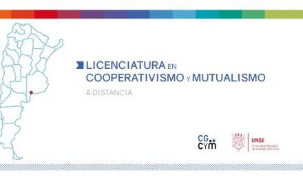 En octubre arranca la Licenciatura en Cooperativismo y Mutualismo (a distancia)