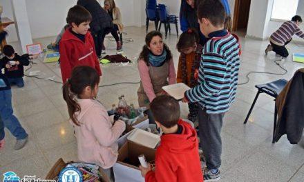 Mutual Sportivo Belgrano de La Para organizó un taller de estímulo a la creatividad infantil