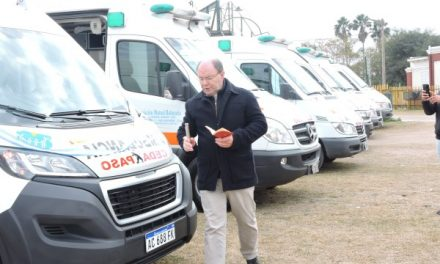 Nueva ambulancia 0km Mutual Balnearia