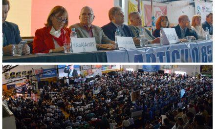 Hubo un contundente apoyo de legisladores y funcionarios de la Región Centro al reclamo de Mutuales y Cooperativas