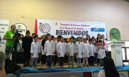 Gran asistencia al Cuarto Encuentro de Jóvenes Solidarios en Córdoba