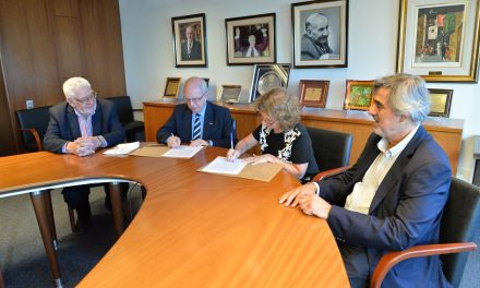 Se firmó un Acuerdo entre la CONAM y el Centro Cultural de la Cooperación Floreal Gorini