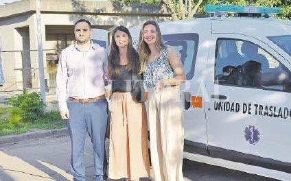 En su 50 aniversario, la Cooperativa de Fuentes donó una ambulancia