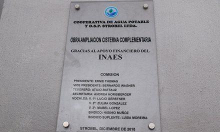 Entre Ríos: Cooperativa de Agua Potable inauguró nuevas cisternas