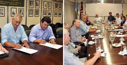 Bahía Blanca: CONINAGRO y FACC firmaron un convenio marco de colaboración