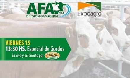 Actividades de AFA SCL en EXPOAGRO 2019