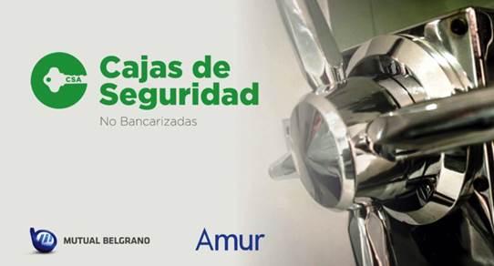 Un nuevo servicio de Mutual Belgrano y Amur