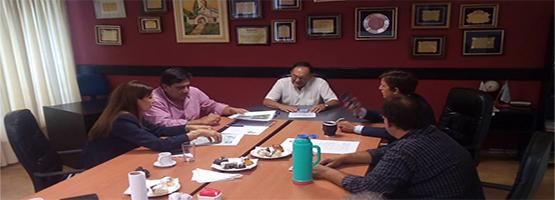 Córdoba: reunión entre FECESCOR y  ENACOM por el Proyecto de Conectividad