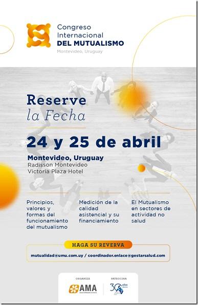 Uruguay se prepara para recibir al mutualismo internacional