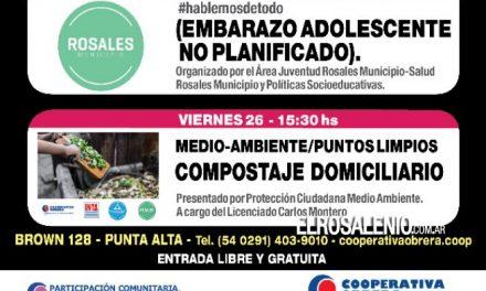 La Cooperativa Obrera de Punta Alta cierra el mes con actividades sociales y culturales