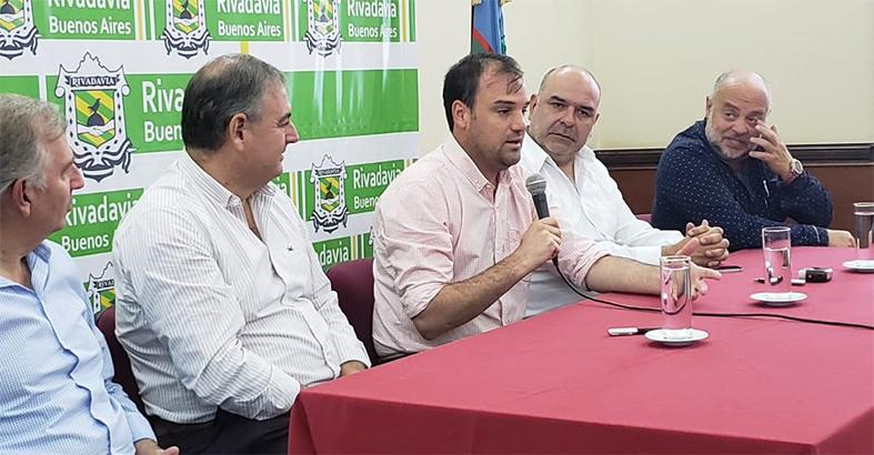 El Partido de Rivadavia ingresa a la Red de Municipios Cooperativos