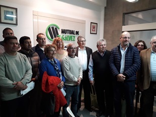 Se celebró la Asamblea General Extraordinaria Mutual de Gálvez