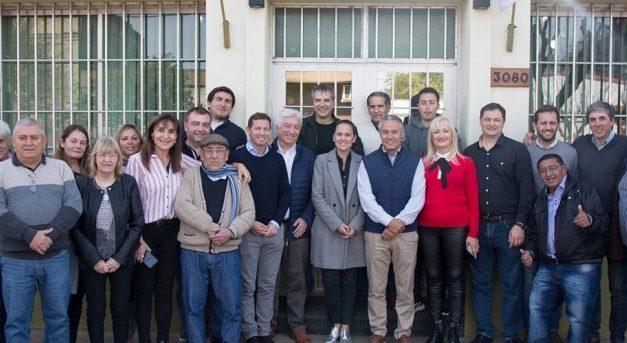 Santa Fe: Collomb participó de distintos encuentros en Rosario