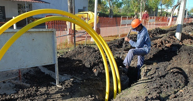 La Pampa: Winifreda inició la extensión de la red de gas natural