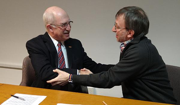 Nuevo convenio entre Cooperar y Cáritas