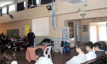 Se realizaron nuevas actividades educativas del CGCyM en Rivera y Carhué