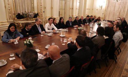 FAMSA asistió a una reunión en Casa Rosada con los referentes de la Salud
