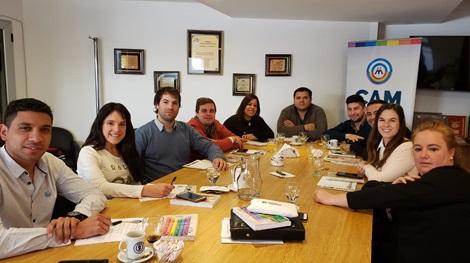 Córdoba: la Juventud de la CAM sale a la primera plana de la solidaridad