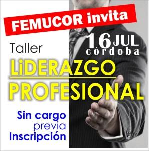 Córdoba: se viene taller de liderazgo profesional