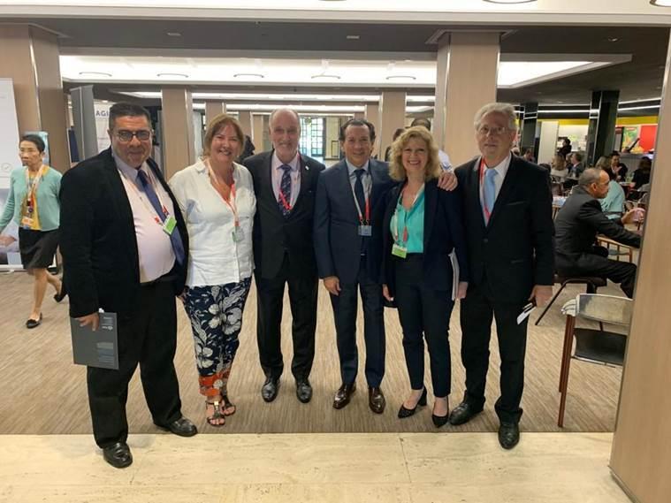 El mutualismo argentino dijo presente en la última Conferencia de la OIT en Suiza