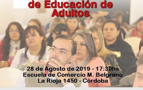 Se viene el Primer Encuentro de Cooperativas y Mutuales escolares de adultos