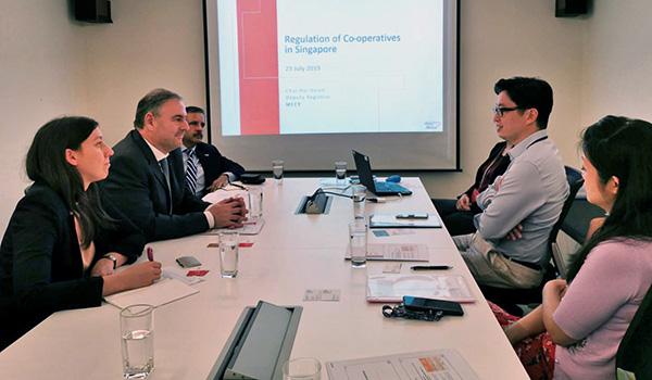 Ariel Guarco visitó cooperativas en Asia