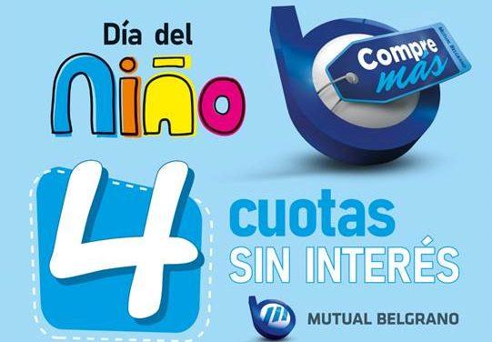 Santa Fe: promoción Día del Niño de Mutual Belgrano