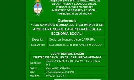 Ciclo de Conferencias para el Personal Superior de Mutuales de las Fuerzas Armadas y de Seguridad
