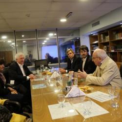 Córdoba: reunión entre Collomb y dirigentes de la provincia