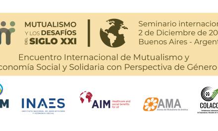 Se viene el Encuentro Internacional de Mutualismo y Economía Social y Solidaria con Perspectiva de Género