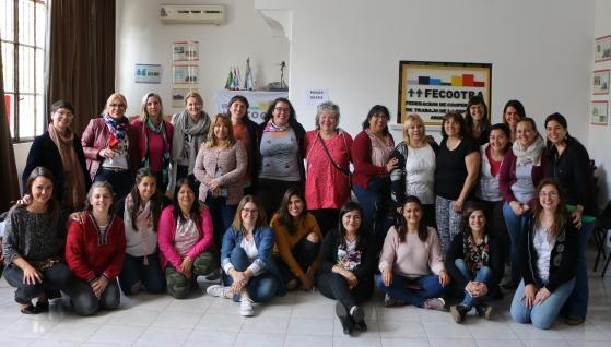 Se realizó el Encuentro de Identidades Femeninas de la FECOOTRA
