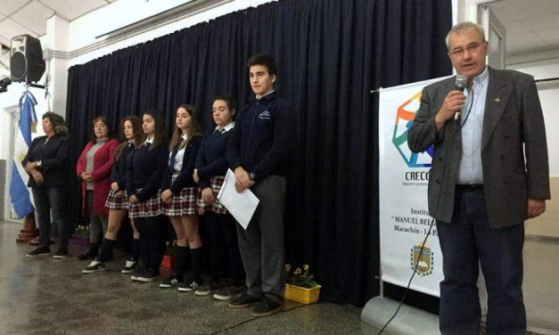La Pampa: se formó en Macachín la primera cooperativa escolar de la provincia