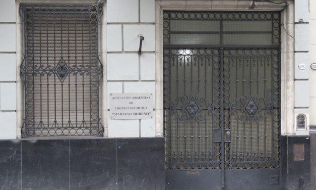 """<h3>Mutuales centenarias</h3> <h1>Asociación Argentina de Protección Mutua """"Mariano Moreno""""</h1>"""