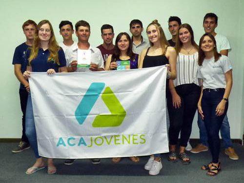 Primera reunión de la Juventud Agraria Cooperativista de Ramírez