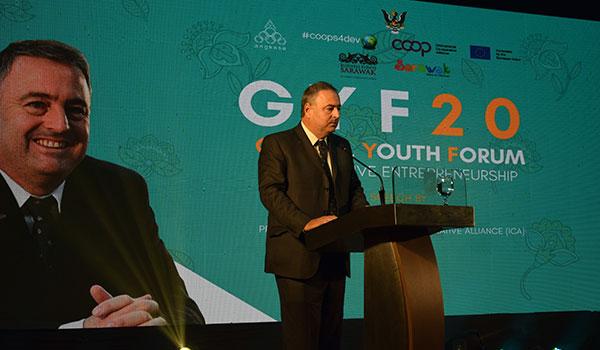 Ariel Guarco convocó a la juventud a sumarse al desarrollo