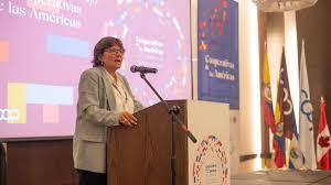 Mensaje de Graciela Fernández Quintas,  Presidenta de Cooperativas de las Américas