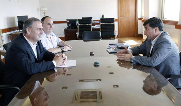 Ariel Guarco se reunió con el Ministro Arroyo