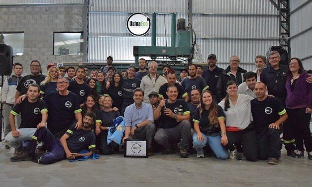 Cooperativa de Reciclaje Usina Eco Luján inauguró su nueva planta