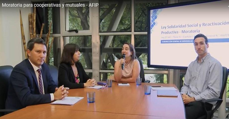 Actualización de moratoria para Mutuales en relación a la AFIP