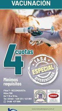 Santa Fe: se lanzó la campaña ganadera de vacunación de la mutual Belgrano